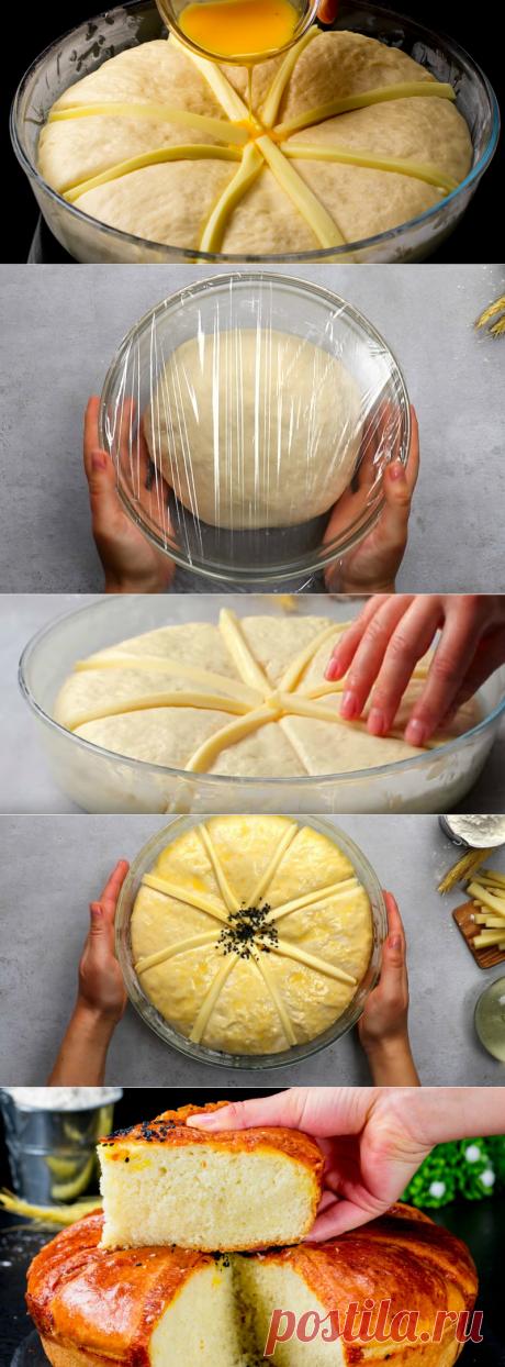 Chleb pszenny z serem