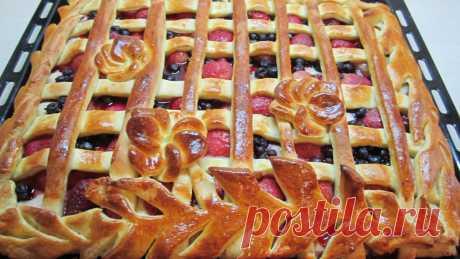 Вкусный Пирог из дрожжевого теста с любой начинкой. | Ольга Орлова | Яндекс Дзен