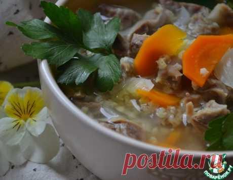 Суп-гуляш с куриными желудками – кулинарный рецепт