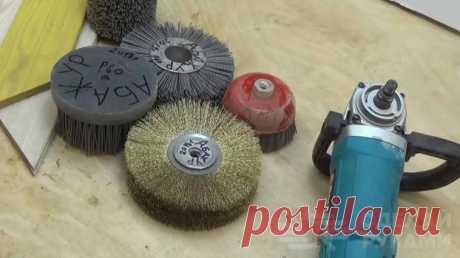 Щетки для браширования: для чего предназначены и как используются Браширование древесины — это один из самых популярных способов декоративной обработки заготовок, который позволяет придать готовому изделию оригинальный и