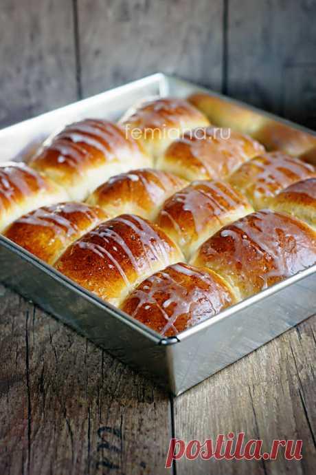 Вкусные ванильные сдобные булочки с повидлом или джемом   FEMIANA