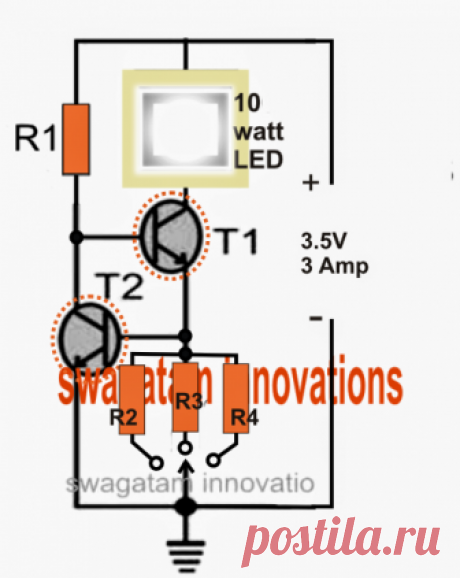 Цепи светодиодных драйверов CREE XM-L T6 - Технические характеристики и практическое применение