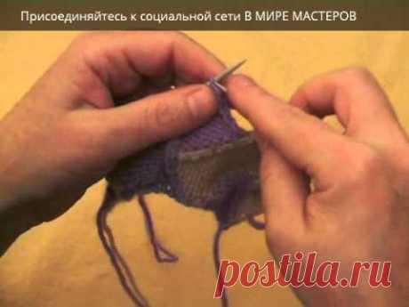 Вязание спицами. Энтрелак часть 3