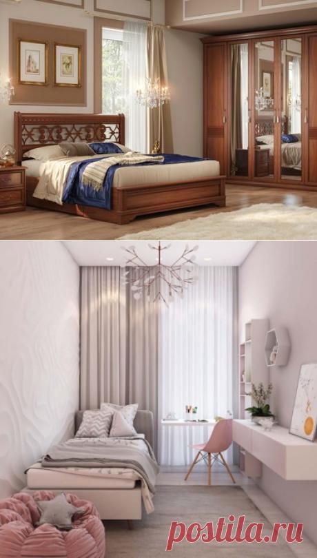 Как сделать маленькую спальню и красивой, и практичной, и удобной — Полезные советы