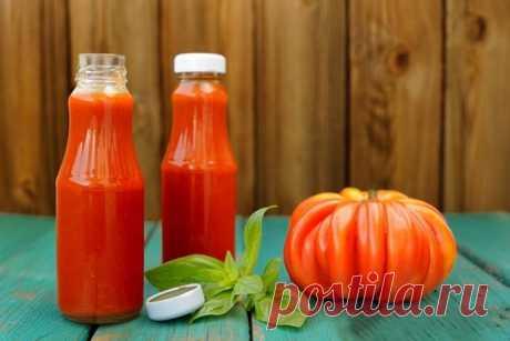Домашний кетчуп по рецепту Джейми Оливера