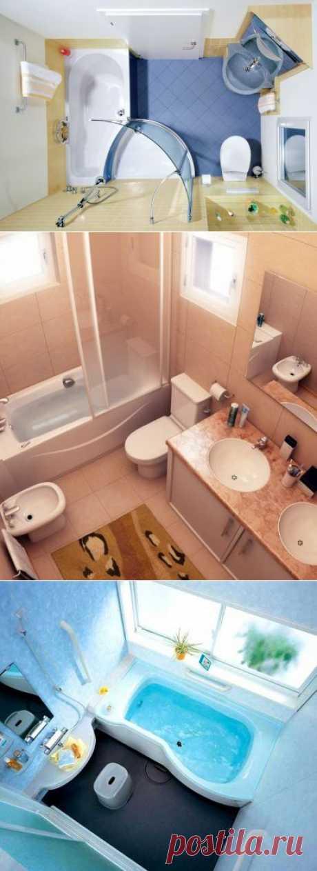 Как оформить интерьер небольшой ванной комнаты | Наш уютный дом