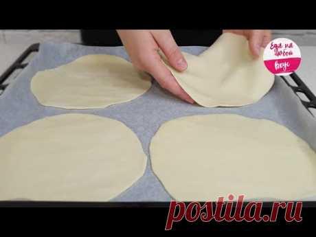 Даже БЕЗ сыра! СОЧНАЯ Пицца на быстром тонком тесте. Вкуснее итальянской! | Еда на любой вкус