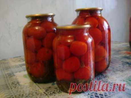 Супер простой и быстрый способ заготовки помидоров! » Женский Мир
