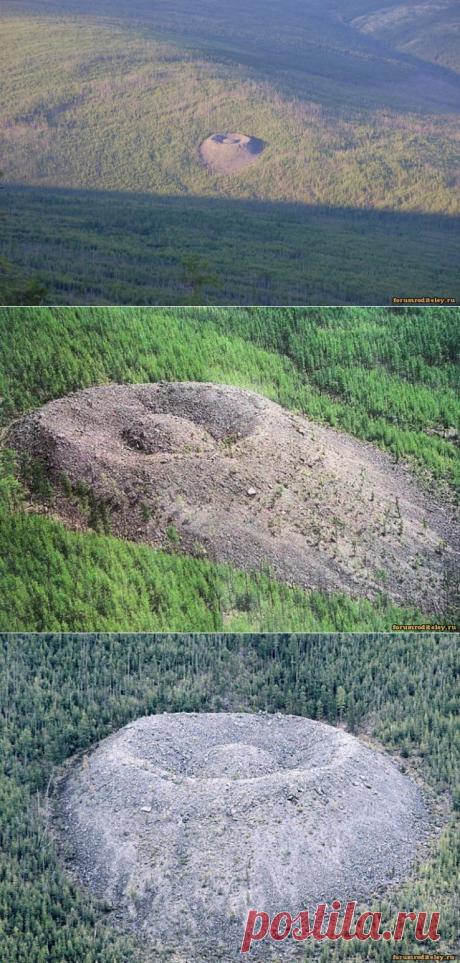 Загадочное место в Сибири - Патомский кратер :: форум родителей, социальная сеть мам и пап