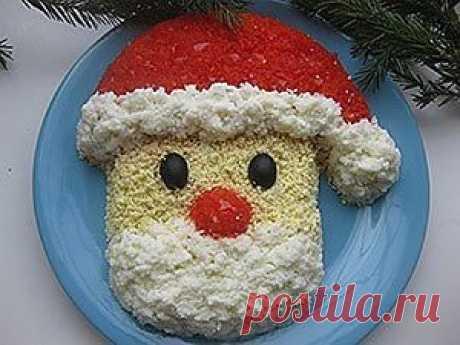 Новогодние салаты   4vkusa.ru