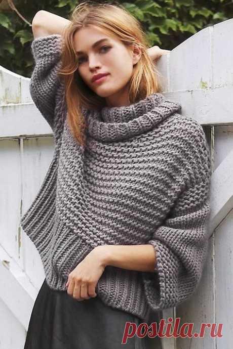 Look! Объемные свитера! — Модно / Nemodno