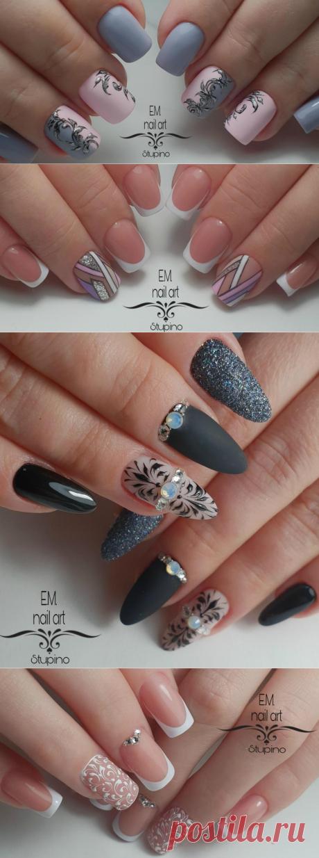 Красивые ногти на весну-лето - 101 фото -Фото — модный дизайн ногтей