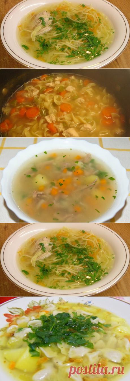 Домашние супы, простые и вкусные   Готовим вкусно! Мнго разных видов супчиков и рецептов к ним.