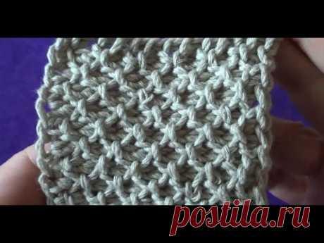 Тунисское вязание -- Узор Путанка