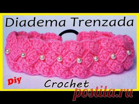 🌈Diadema Tejida a Crochet o Ganchillo (PASO A PASO) crochet headband | VINCHA - TURBANTE - TIARA❣