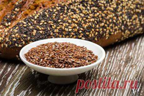 Как употреблять семена льна для очищения организма и похудения