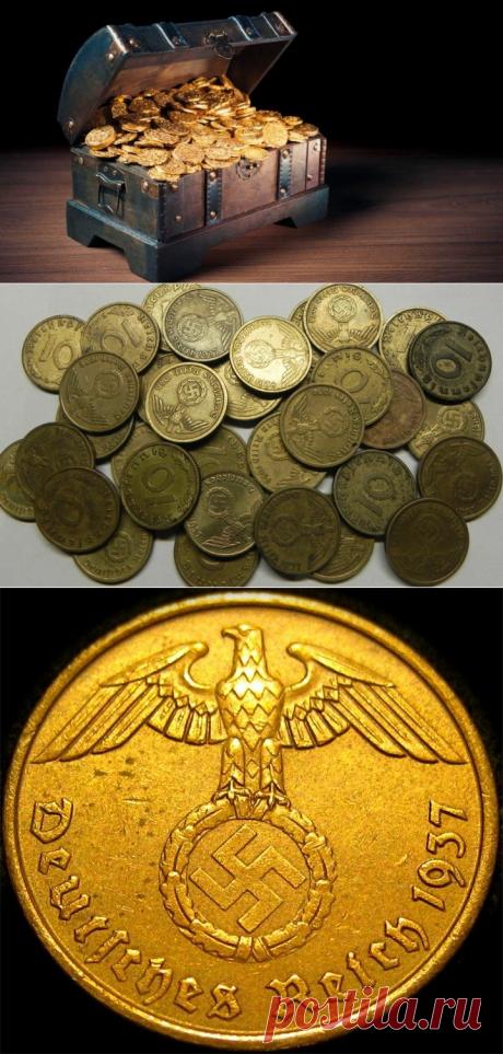 Найден клад золота, спрятанного в последние дни Второй мировой войны | Золото канал | Яндекс Дзен