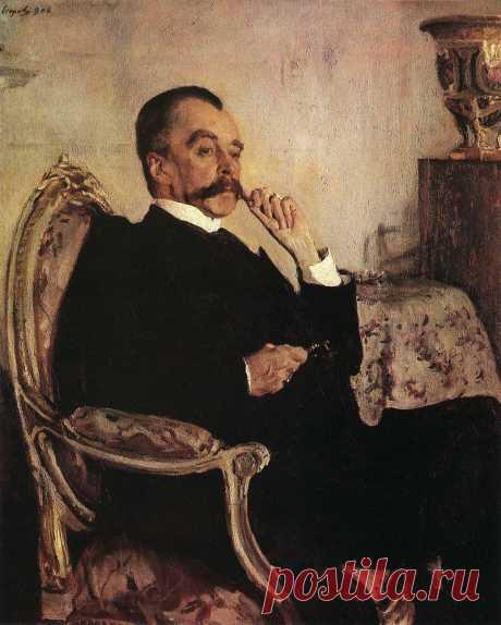 Портрет кн. В.Н.Голицына. 1906     Валентин Александрович Серов (1865-1911). Часть 1: vakin