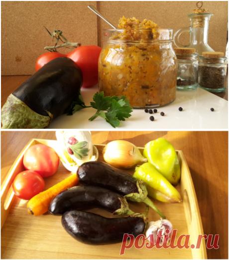 Баклажанная икра – фото-рецепт домашней заготовки на зиму