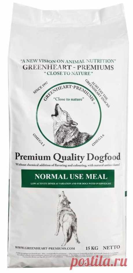 Greenheart Normal Use Meal-сухой корм для собак всех пород с нормальным и низким уровнем активности