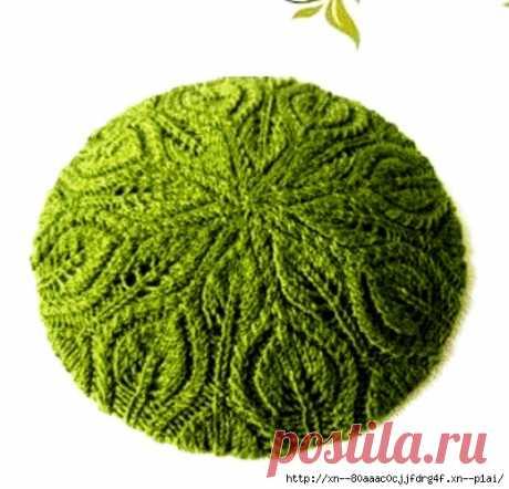 Зеленый берет - САМОБРАНОЧКА рукодельницам, мастерицам