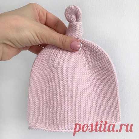 Описание шапочки для малышей от @knit.withlove_nsk Покажите, пожалуйста, в комментариях, если вязали похожее #шапочка_девочке@knit_best, #шапка_спицами@knit_best  Это отличный вариант на весну! Показать полностью...