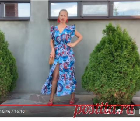Простое платье туника без выкройки | шью сама - YouTubeBogdanchikgirl