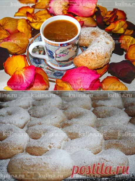 """Las galletas griegas """"Курабьедес"""" – la receta de la preparación de la foto de Kulina.Ru"""