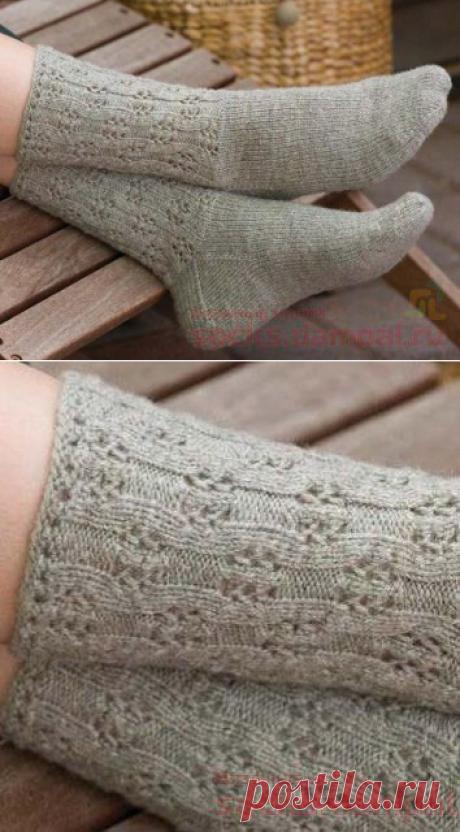 Вязаные носки «Eyelet Socks»
