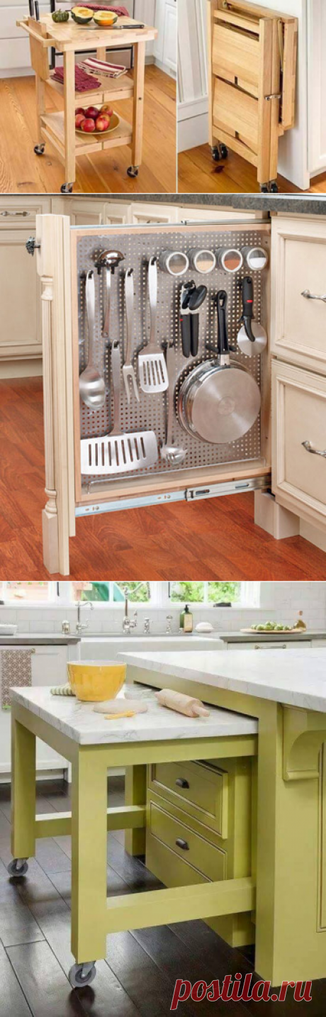 Идеи оптимизации кухни
