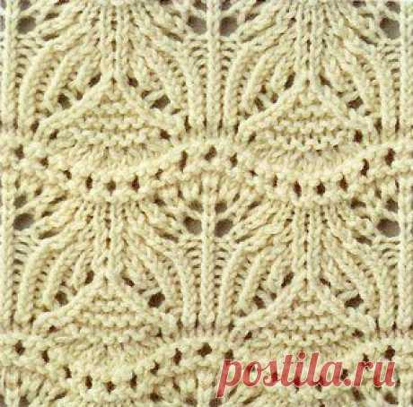 Вязание: подборка красивых узоров