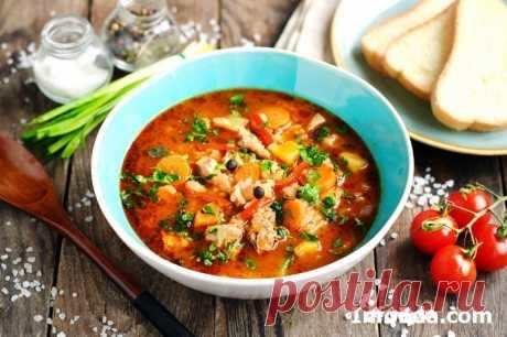 Суп-харчо с курицей и рисом: рецепт с фото | InfoEda.com