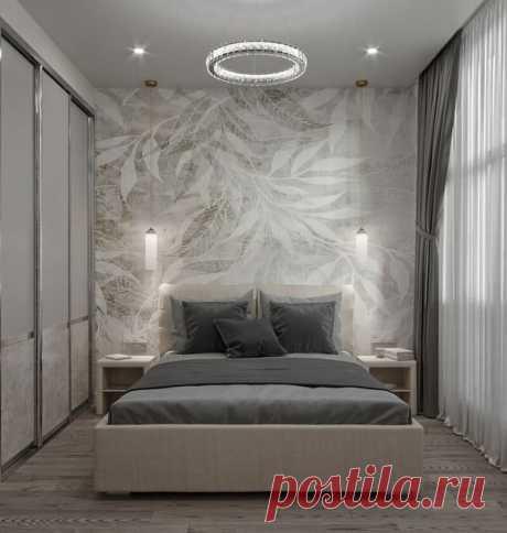 Отличная расстановка мебели в спальне