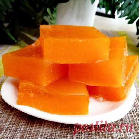 Вкусный и полезный мармелад из тыквы, за полчаса – пошаговый рецепт с фотографиями