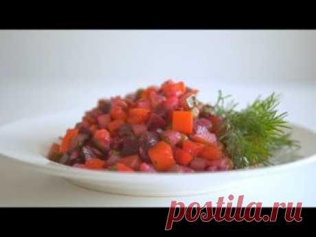 Винегрет с сельдью + Интересный способ приготовления картофеля для салатов