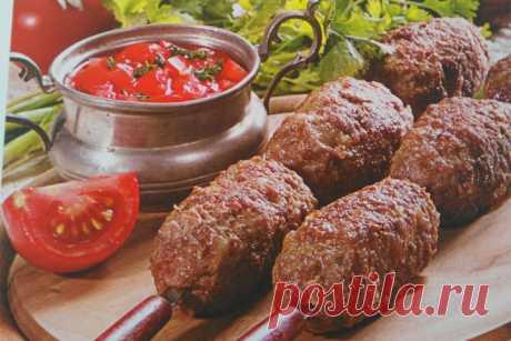 Люля-кебаб с соусом | Tasty Day