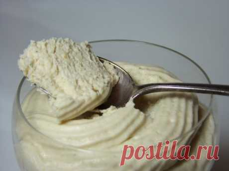 Воздушный крем-десерт за 5 минут: нежный, сливочный и очень легкий! Разрешается даже при диете.