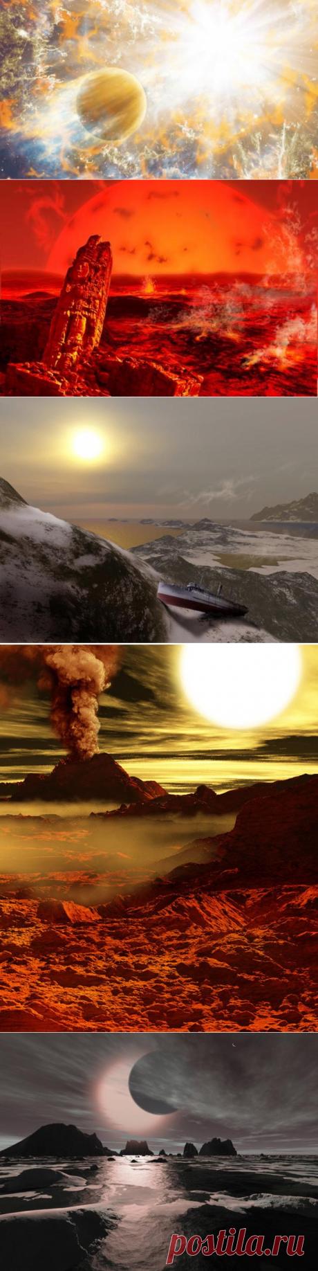 29-5-21-8 этапов, через которые пройдёт Солнце, перед тем, как погибнуть