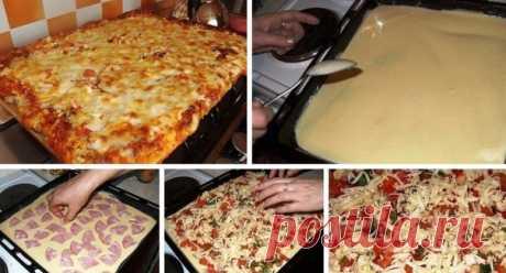 Быстрая и вкуснейшая пицца  Ингредиенты: -Яйца — 2 Штуки -Майонез — 3 Ст. ложки Показать полностью... -Мука — 3 Ст. ложка -Колбаса — 150 Грамм -Лук — 1/2 Штуки -Помидор — 1 Штука -Сыр — 200 Грамм Приготовление: 1. Смешиваем яйца, майонез, муку. Хорошенько перемешиваем. 2. Полученную смесь выливаем на сковороду с прогретым растительным маслом. 3. Обжариваем с двух сторон до готовности. 4. Не забывайте чередовать слои: один тонкий, другой в виде блинчика. 5. Разрезаем на 5 равных частей, смазыва…