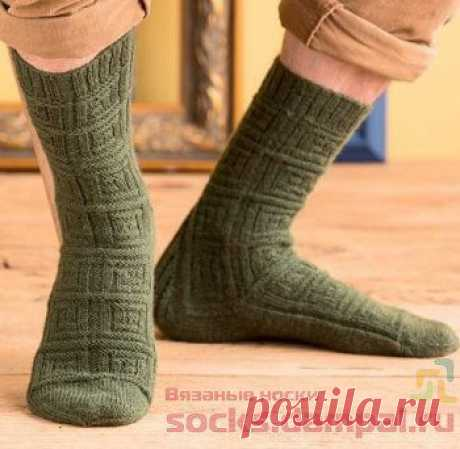 Мужские и женские носки с эффектом Виктора Вазарели | ВЯЗАНЫЕ НОСКИ