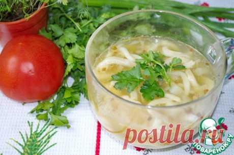 Постный гороховый суп – кулинарный рецепт