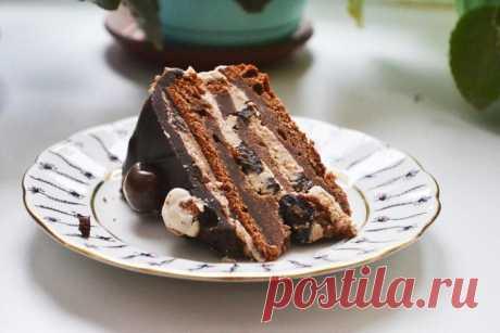 ТОРТ Шоколадный чернослив