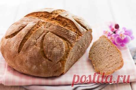 Хлеб на закваске ржано-пшеничный - легкий рецепт для новичков