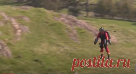 В Британии испытали необычный костюм для парамедиков позволяющий летать над землей