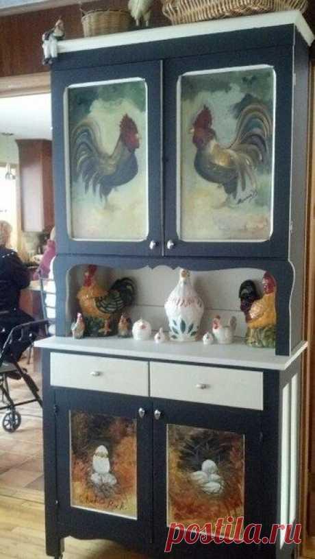 НАША СТРАНА МАСТЕРОВ: Декупаж и роспись на мебели.Идеи.