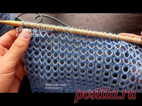 НЕОБЫЧНАЯ ТЕХНИКА СПИЦАМИ! ВСЕ ГЕНИАЛЬНОЕ - ПРОСТО! Simple and effective knitting pattern!