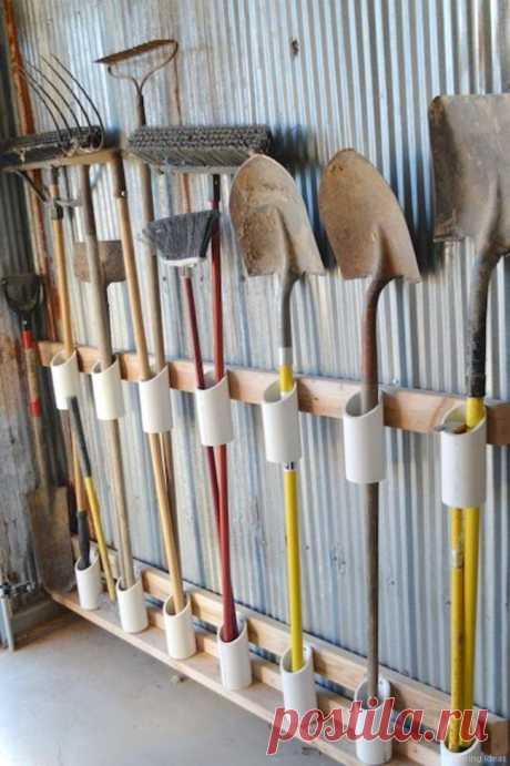 ПВХ трубы на участке: 20 идей, способных облегчить жизнь дачникам