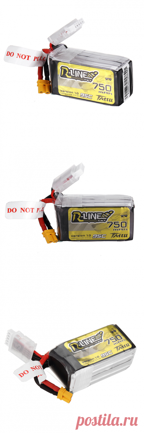 tattu r-line 1.0 14.8v 750mah 95c 4s lipo battery xt30 plug for 100mm to 180mm fpv race drone quadcopter Sale - Banggood.com