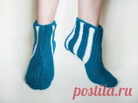 Вязание без хлопот. Как очень просто и быстро связать носки спицами » «Хомяк55» - всё о вязании спицами и крючком