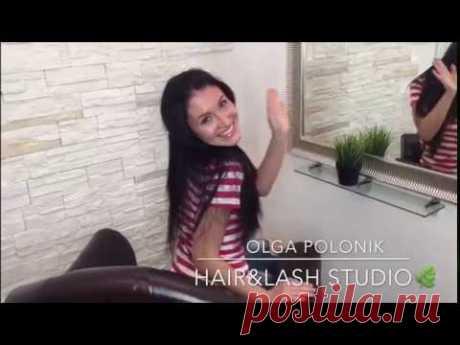 Безопасное наращивание волос в студии Ольги Полоник - кардинально новый образ всего за несколько часов
